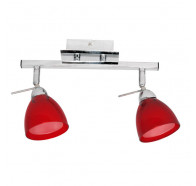 V & M Rosso 2 Light G9 Spotlight Red
