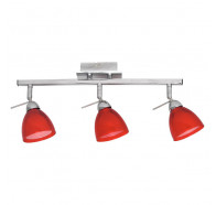 V & M Rosso 3 Light G9 Spotlight Red