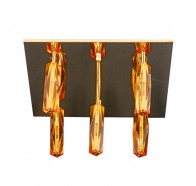 V & M Cubo 5 lights Amber Gold CTC