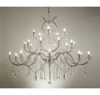 Fiorentino Marte 25 Light Large Chandelier