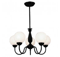 V & M Cosmo 5 Lights 29140 Pendant Matt BLack