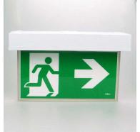 Lumos Blade-SM Led Emergency Light Exit Sign Surface Mounted