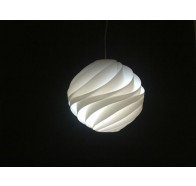 Fiorentino Grado 1 Light White Pendant