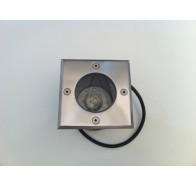 Fiorentino 3733 Stainless Steel 1 Light Exterior inground Light