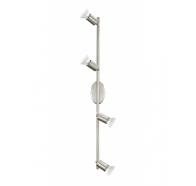 Eglo Buzz LED 4 Light Satin Nickel Adjustable Spotlight