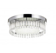 Telbix Andela Round 30W LED Oyster Light