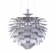 Fiorentino Karchof 1 Light White Metal Pendant