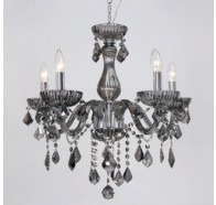Fiorentino Avenue 5 Lights Chrome Crystal Chandeliers