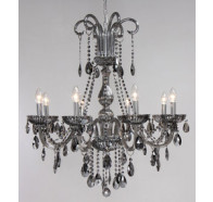 Fiorentino Avenue 8L / 12L / 15L Chrome Crystal Chandelier B15
