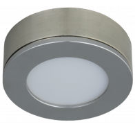 Martec Conceal LED Single Cabinet Light in Brushed Nickel