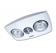 Martec Contour 3 in 1 Bathroom Heating Lights