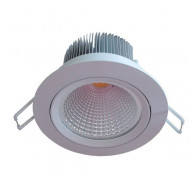 V & M Creedo 12w Led COB Downlight