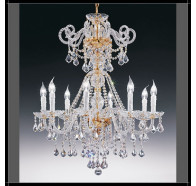 Fiorentino Dream 10 Light Crystal Chandelier
