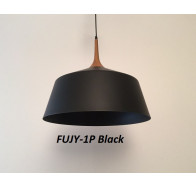 Fiorentino Fujy 1 light Wood Look Finish Pendant