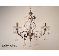 Fiorentino Giovana bronze Crystal Wall Bracket