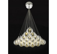 Fiorentino 21 Light Grape Led Cluster Ceiling