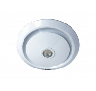 Martec Gyro White Exhaust Fan with LED Light