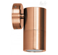 Havit HV1117 GU10 240V Copper Single Fixed Wall Pillar Light
