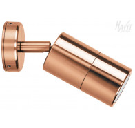 Havit HV1215 240v Solid Copper Single Adjustable Wall Pillar Light