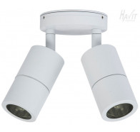 Havit HV1336 Matte White Double Adjustable Wall Pillar Light