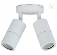Havit HV1337 GU10 Matte White Double Adjustable Wall Pillar Light
