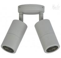 Double Adjustable Wall Pillar Light