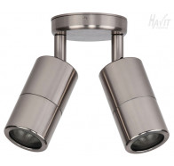 Havit HV1387 MR16 12v Titanium Double Adjustable Wall Pillar Light