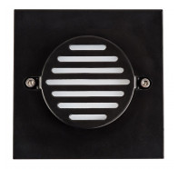 Havit HV3219 12V Square Black Recessed LED Step Light