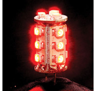 Havit HV9525 Red G4 12V 1.4W LED Bi-Pin Globe