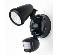 Telbix Illume LED Single Adjustable Exterior Spotlight with Flood Light Sensor