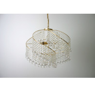 Fiorentino Eden Gold Crystal Ball Chandelier