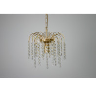 Fiorentino CL610 1 Light Gold Chandelier