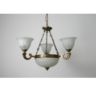 Fiorentino MX959 Antique Brass 5 Light Pendant