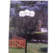 Fiorentino KIM 20 3 Light Post Top