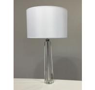 Fiorentino Logan Table Lamp with White Shade