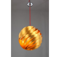Fiorentino Madison-1P Gold/Silver 1 Light Pendant