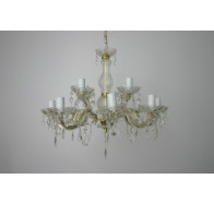 Small Swing Arm Chandelier