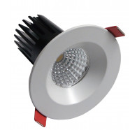 Telbix MDL 601 fixed LED downlight in White