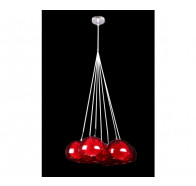 V & M Meteor Cluster Glass Pendant 7 Light
