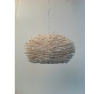 Fiorentino Perugia - 1P Beige 1 Light Pendant
