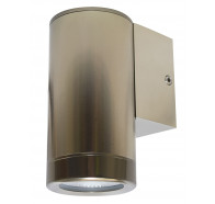 Martec Pulse Down Only 1 LED 5000K Exterior Wall Light Brushed Aluminium