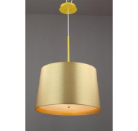 Fiorentino Punto Gold Large 1 Light Pendant