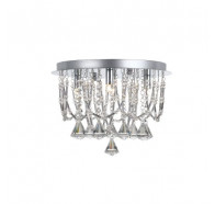Telbix Sandro 5 Light Flush Mount Close to Ceiling Light