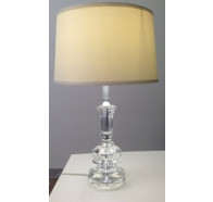 Fiorentino Sorento 1 Light Solid Crystal Table Lamp