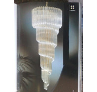 Fiorentino SP53 Gold Crystal Chandelier