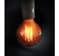 Sphere 125 240V Carbon Filament Lamps