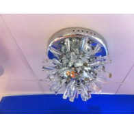 Fiorentino YL2027-15 CTC 12V 15L Chrome & Crystal Close To Ceiling