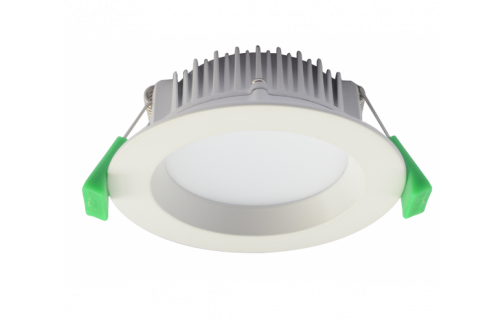 Tradetec Arte White Frame 13W SMD LED Dimmable IP44 Downlight Kit