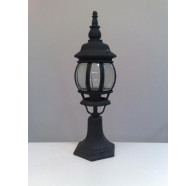 Fiorentino EPM 8104-PM-Black 1 Light Pillar Mount