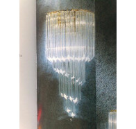 Fiorentino Spirale A Gold 3 Light Wall Light